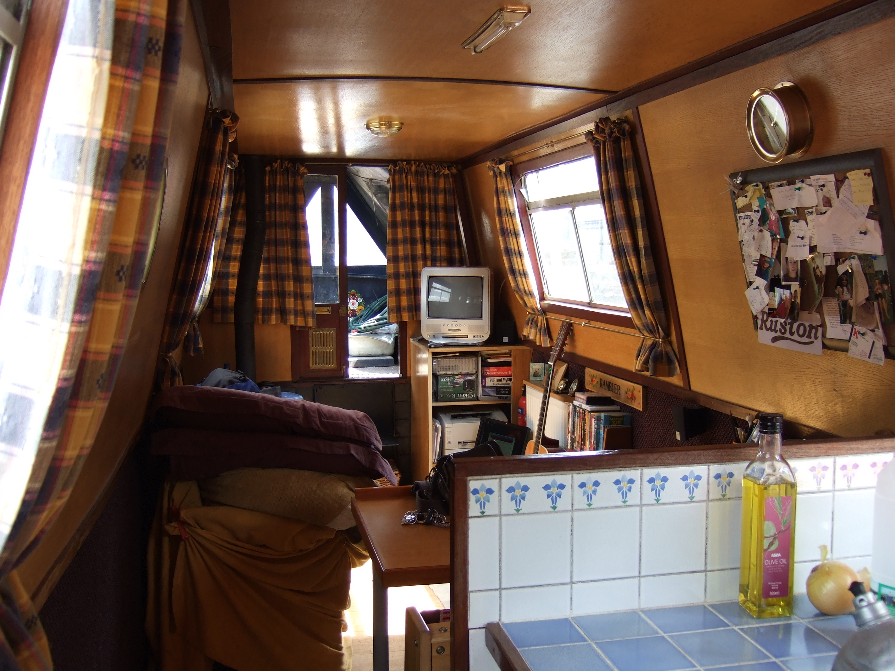 House Plans Rambler My Narrowboat Rambler Interior For The Narrow Minded